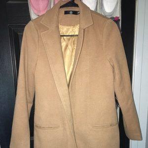 Missguided jacket. Tan size medium never worn